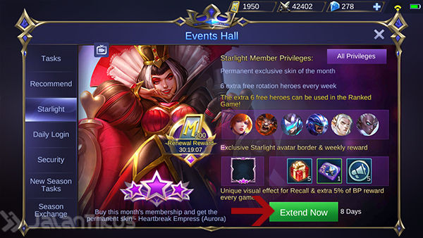 Cara Beli Starlight Mobile Legends 3