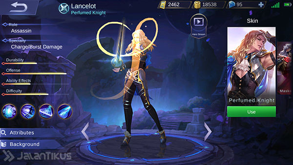 Guide Lancelot Mobile Legends 1