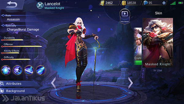 Guide Lancelot Mobile Legends 2