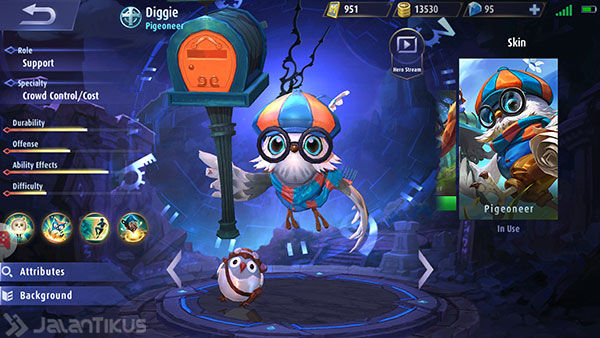 Guide Diggie Mobile Legends 1