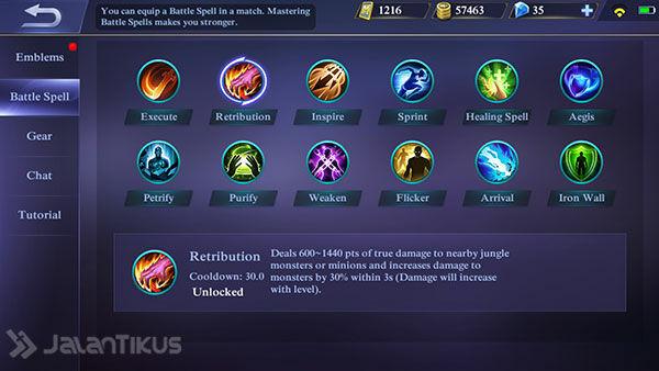 Battle Spell Menyerang Mobile Legends 3