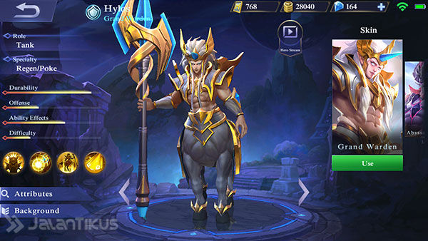 Guide Hylos Mobile Legends 1
