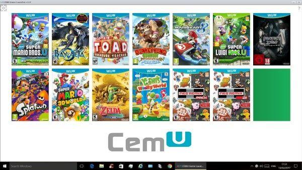 Cemu Nintendo Wii U Emulator 1