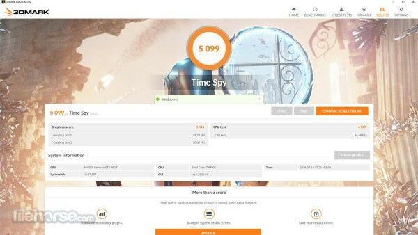 3d Mark Basic Edition Free Pc Benchmark 1
