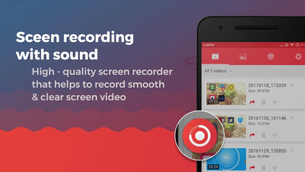 Screen Recorder With Audio And Editor Screenshot 1