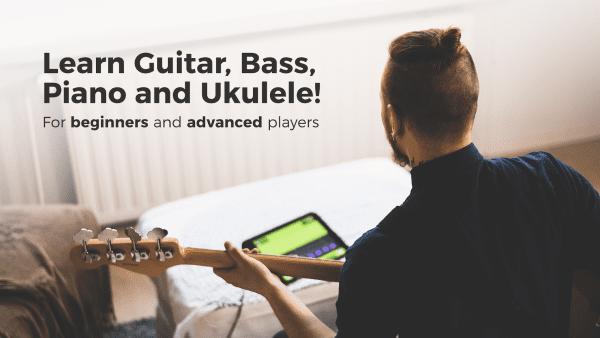 Yousician Learn Guitar Piano Bass Ukulele 1