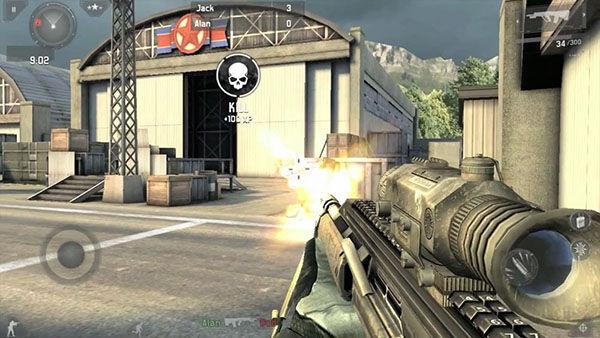 XP Gain Modern Combat 3 Fallen Nation Ed011