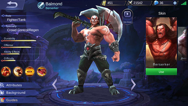 Balmond Mobile Legends 44c1b