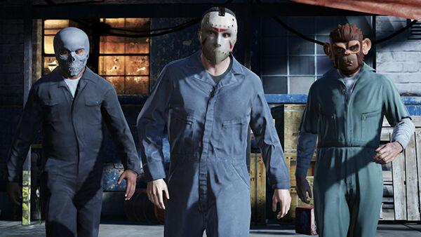 Grand Theft Auto V Masks C72ad