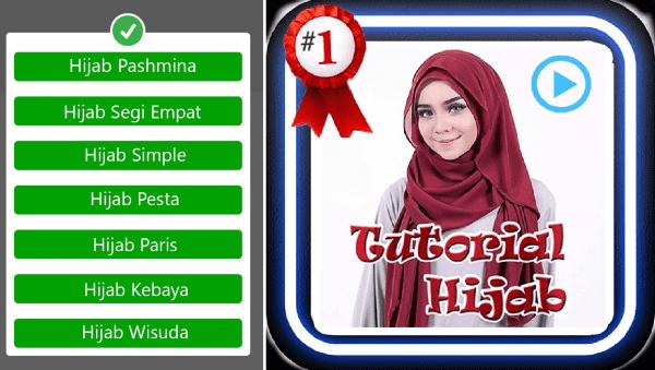 Tutorial Hijab Segi Empat 1 Be560