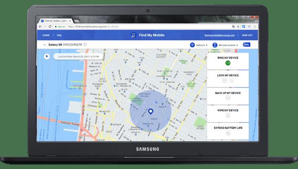 Find My Mobile Samsung Menemukan Smartphone Hilang