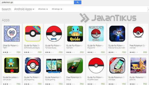 Aplikasi Palsu Pokemon Go 1