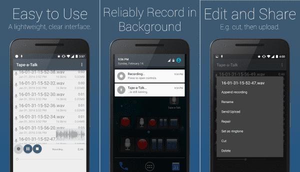 Tape A Talk Aplikasi Perekam Suara 1