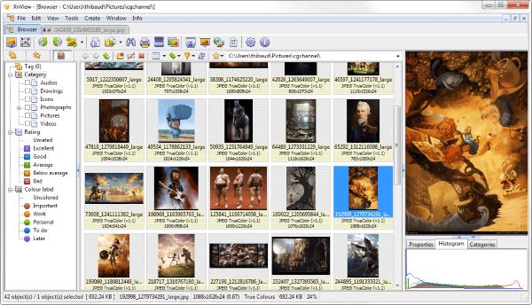 Xnview Image Viewer Photo Resizer Coverter 2 6c9cc