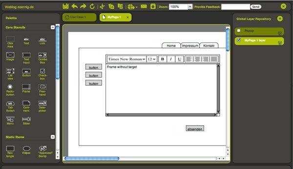 Software Terbaik Untuk Web Design Pidoco