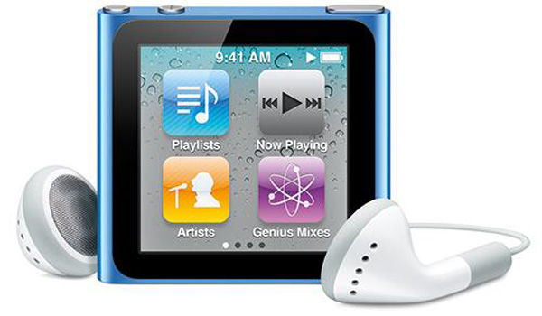 233991 Apple Ipod Nano 6th Generation Cf212