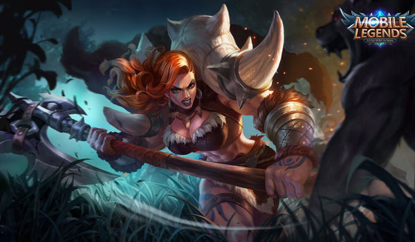 Wallpaper Mobile Legends Hilda Power Of Megalith 8e9db