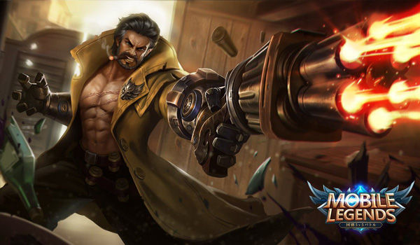 Wallpaper Mobile Legends Roger Dire Wolf Hunter 56df8