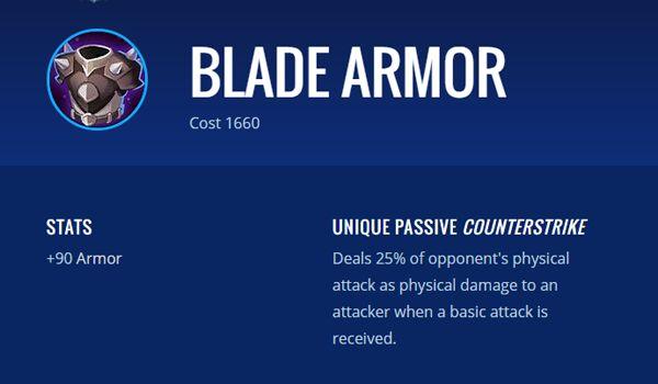 Blade Armor 46135