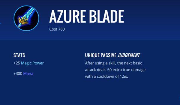 Azure Blade B3469