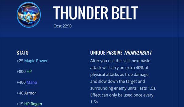 Thunder Belt 7eeb6