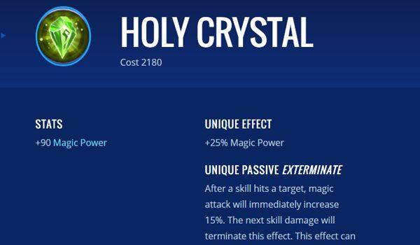 Holy Crystal 2933e
