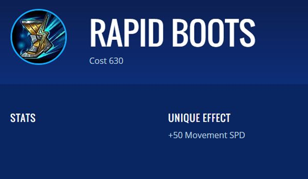 Rapid Boots 01419