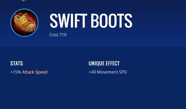 Swift Boots 09e62