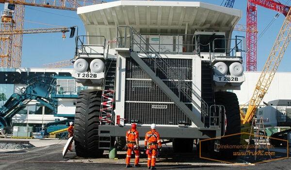 Spesifikasi Mobil Truk Terbesar Di Dunia Liebherr T 282B 70925