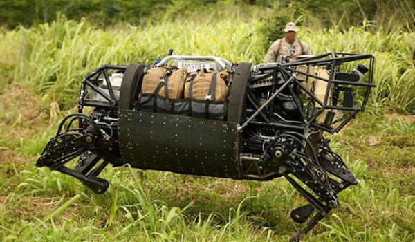 Big Dog Robot Anjing Militer Raksasa Buatan Google De844