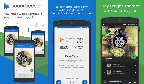 Soundseeder Music Player 2 Share Lagu Lewat Wifi