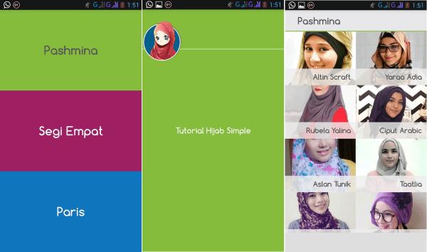 Tutorial Hijab Simple 3 52a00