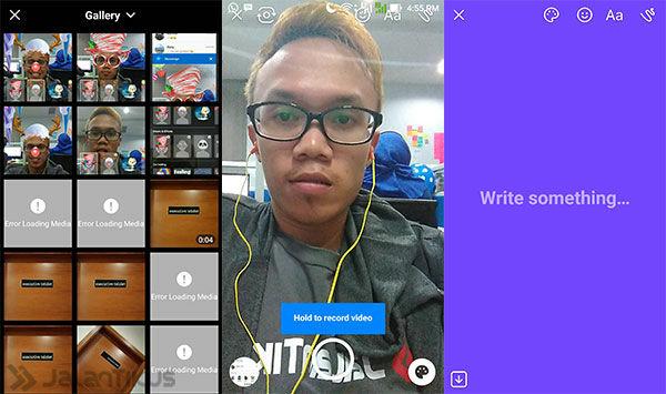 Snapchat Di Facebook Messenger 2
