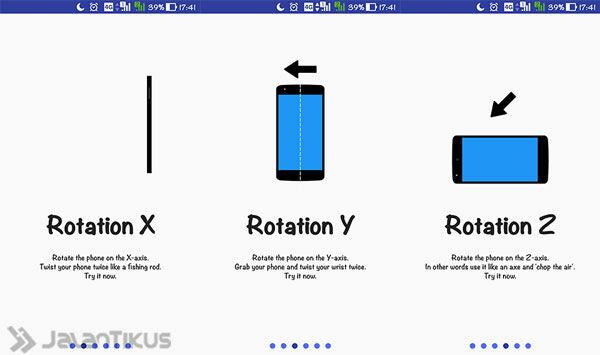 Cara Mengendalikan Android Tanpa Menyentuh Layar