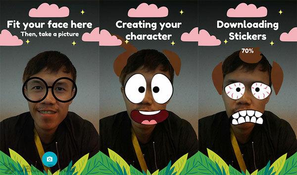 Cara Mengubah Selfie Jadi Sticker Chatting 3