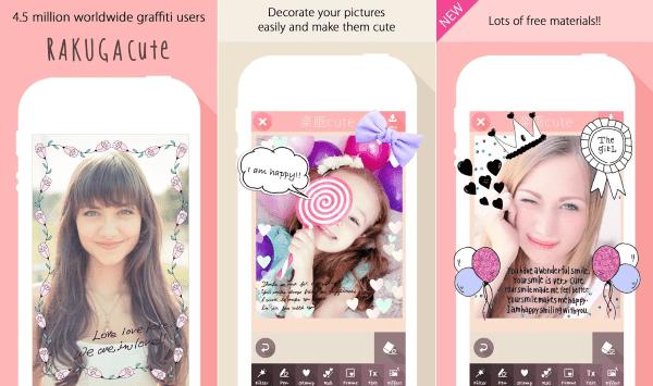 Rakuga Cute Aplikasi Kamera Android 1