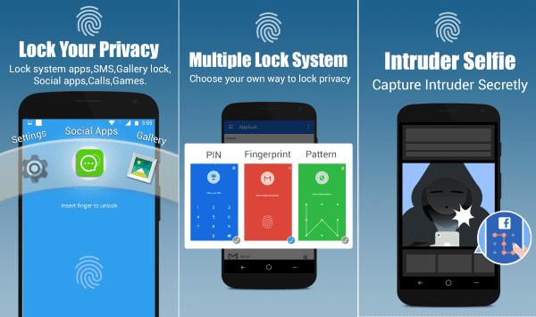 App Lock Real Fingerprint Pattern Password 1