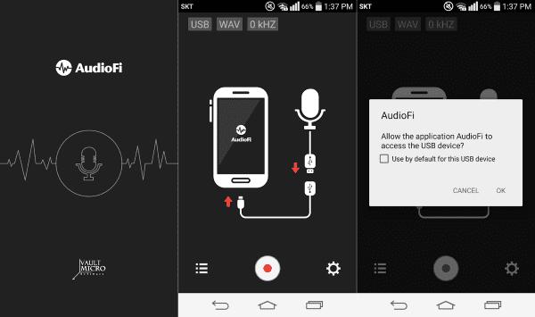 Audiofi Usb Audio Recorder 1