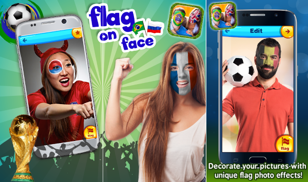 World Cup 2018 National Flags Photo Frames 3 6d8cf