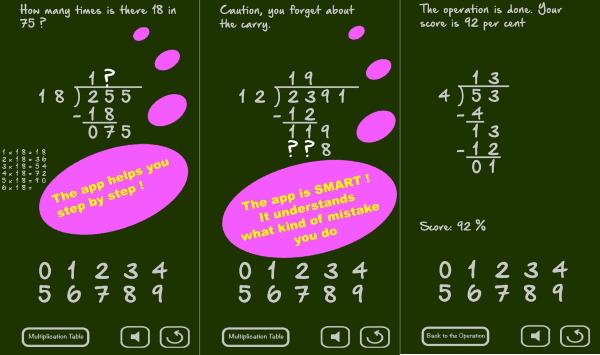 Math Long Division 3 9961a