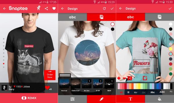 Tshirt Design Snaptee 3 647aa