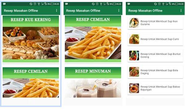 Resep Masakan Offline 29145
