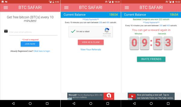 Btc Safari Cara Mendapatkan Bitcoin 1