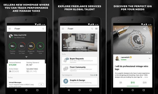 Fiverr Aplikasi Cari Kerja 1