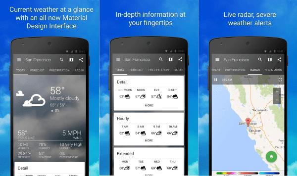 Weather Widget Forecast Radar 1