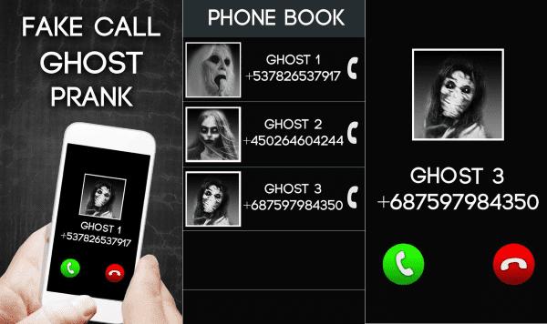 Fake Call Ghost Prank 6 52680