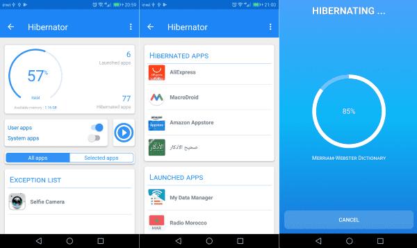 Hibernaor Hibernate Apps Save Battery 1
