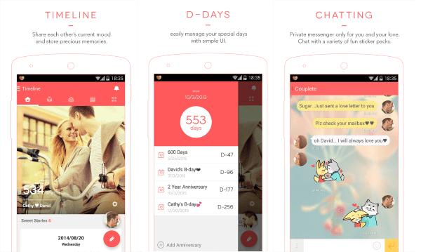 Couplete Aplikasi Valentine 1