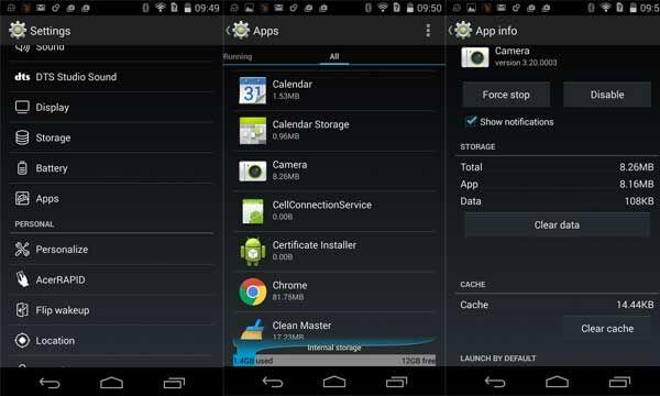 Perbaiki Kamera Android