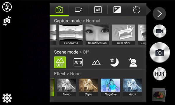 Review Acer Z500kamera